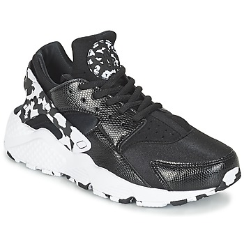 Shoes Women Low top trainers Nike AIR HUARACHE RUN SE W Black / White