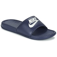 Shoes Men Mules Nike BENASSI JDI Blue / White