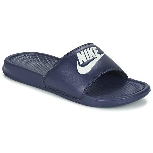 Shoes Men Sliders Nike BENASSI JDI Blue / White