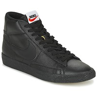 Shoes Men Hi top trainers Nike BLAZER MID Black