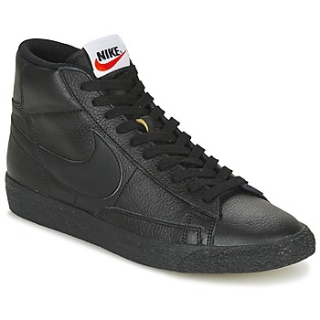 Nike  BLAZER MID  mens Shoes (Hightop Trainers) in black