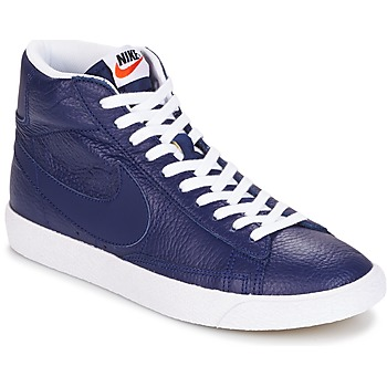 Nike  BLAZER MID  mens Shoes (Hightop Trainers) in blue