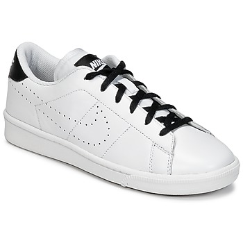 Shoes Boy Low top trainers Nike TENNIS CLASSIC PREMIUMM GRADE SCHOOL White / Black