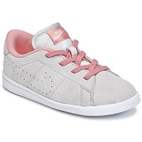 Shoes Girl Low top trainers Nike TENNIS CLASSIC PREMIUM TODDLER BEIGE / Pink