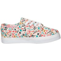 Shoes Women Low top trainers Vans Z Atwood Low Floral Multi Pink-Turquoise-White