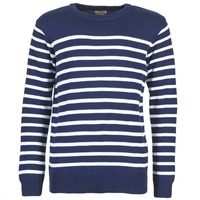 Clothing Men jumpers Casual Attitude FARCIELLE MARINE / White