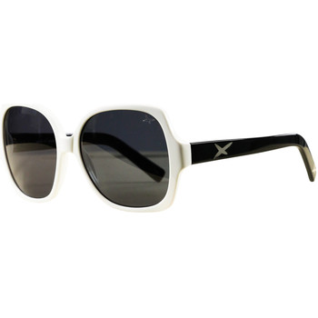 Watches Women Sunglasses Mauboussin Forty Six White and Black Sunglasses WHITE
