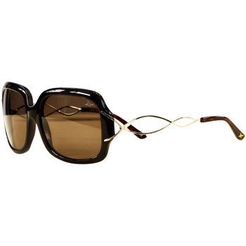 Watches Women Sunglasses Mauboussin Thirty Eight Scale Sunglasses BROWN