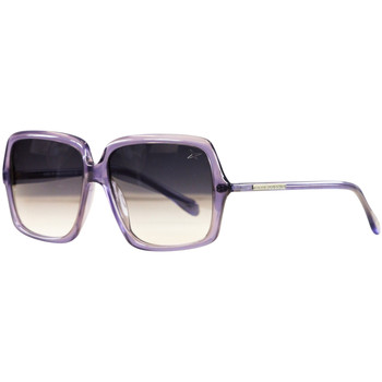 Watches Women Sunglasses Mauboussin Twenty Prune Translucent Sunglasses VIOLET