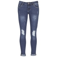 Clothing Women slim jeans Yurban FOUNOLE Blue / MEDIUM