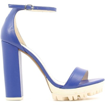Shoes Women Sandals Grace Shoes 3-51091 High heeled sandals Women Blue Blue