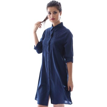 Clothing Women Short Dresses Gazel AB.AB.CH.0009 Dress Women Blue Blue