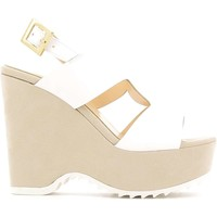 Shoes Women Sandals Grace Shoes 7476 Wedge sandals Women White White