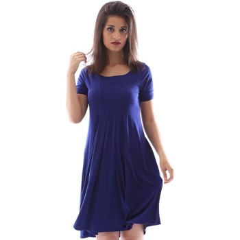Clothing Women Short Dresses Gazel AB.AB.MC.0059 Dress Women Blue Blue