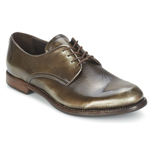 Shoes Women Derby Shoes n.d.c. FULL MOON MIRAGGIO Black / Shimmer