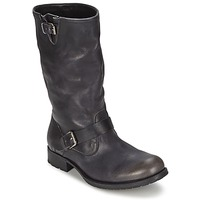 Shoes Women High boots n.d.c. BIKER MID R CAMARRA SLAVATO Black
