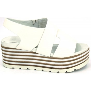 Shoes Women Sandals Elvio Zanon D-4204-X white