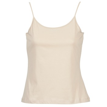 Clothing Women Tops / Sleeveless T-shirts BOTD FAGALOTTE Beige