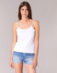 Clothing Women Tops / Sleeveless T-shirts BOTD FAGALOTTE White