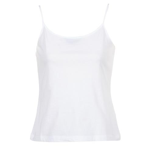 Clothing Women Tops / Sleeveless T-shirts BOTD FAGALOTTE White