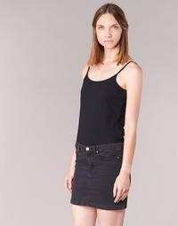 Clothing Women Tops / Sleeveless T-shirts BOTD FAGALOTTE Black