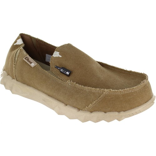 Shoes Men Loafers Hey Dude Farty Chestnut