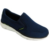 Shoes Men Slip ons Skechers Double Play Navy