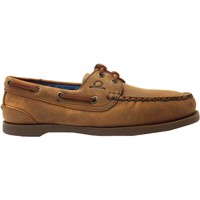Boat shoes Chatham Marine Deck Lady G2 women's Walnut lace up leather boat shoes n