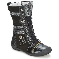 Shoes Girl Mid boots Catimini CYLENE Black