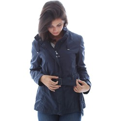 Clothing Women Jackets Geox W6220A T0434 Jacket Women Blue Blue