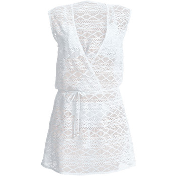Clothing Women Short Dresses Freya Sundance White Beach Dress WHITE