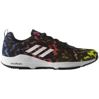 Shoes Women Fitness / Training adidas Originals Arianna Cloudfoam Black-Yellow-White