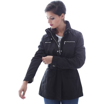 Clothing Women Jackets / Blazers Geox W6220C T0351 Jacket Women Nero