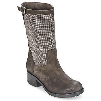 Shoes Women High boots Now DOUREL Grey