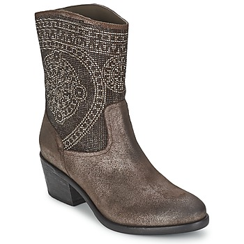 Shoes Women Mid boots Now PIOMBO Grey