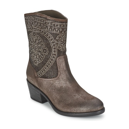 Shoes Women Ankle boots Now PIOMBO Grey