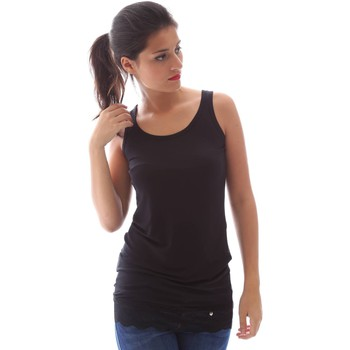 Clothing Women Tops / Sleeveless T-shirts Animagemella 16PE129 Canotta Women Black Black