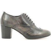 Shoes Women Brogues Mally 5092 Lace-up heels Women Grey Grey
