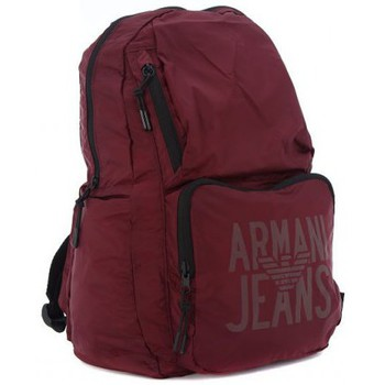 Armani  Jeans  ARMANI JEANS  ZAINO  BORDEAUX  mens Backpack in multicolour