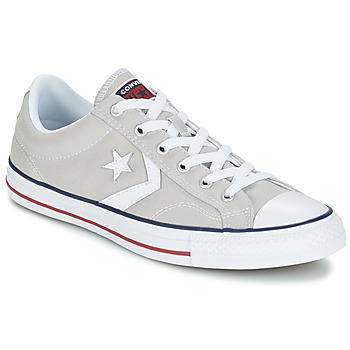Shoes Low top trainers Converse STAR PLAYER CORE CANV OX Grey / Clear / White