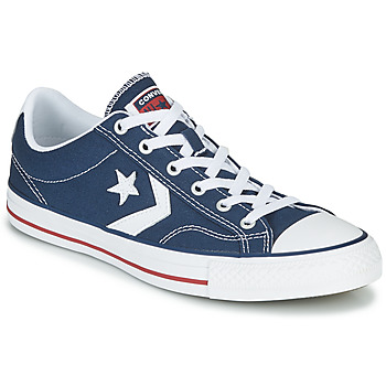Shoes Men Low top trainers Converse STAR PLAYER CORE CANV OX Marine / White