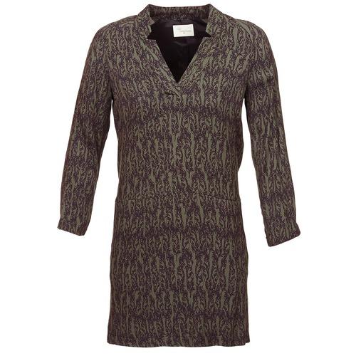 Clothing Women Short Dresses Stella Forest BRO024 Kaki