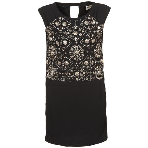 Clothing Women Short Dresses Stella Forest BRO040 Black
