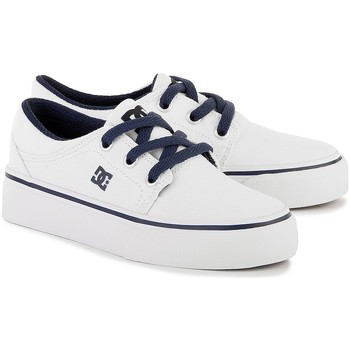 Shoes Men Low top trainers DC Shoes Trase TX White