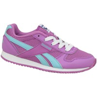Shoes Girl Low top trainers Reebok Sport Royal CL Jogger White