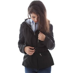 Clothing Women Trench coats Geox W6220E T0351 Jacket Women Nero