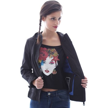 Clothing Women Jackets / Blazers Geox W6221Y T2270 Jacket Women Nero