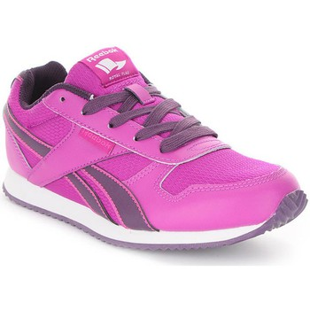 Shoes Girl Low top trainers Reebok Sport Royal Cljogger Purple