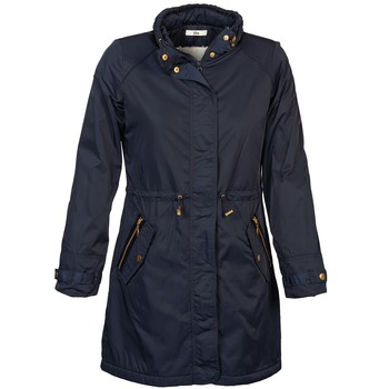 Clothing Women Parkas TBS GABVES Blue / Night