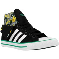 Shoes Men Hi top trainers adidas Originals Bbneo 3 Stripes CV Mid K Black